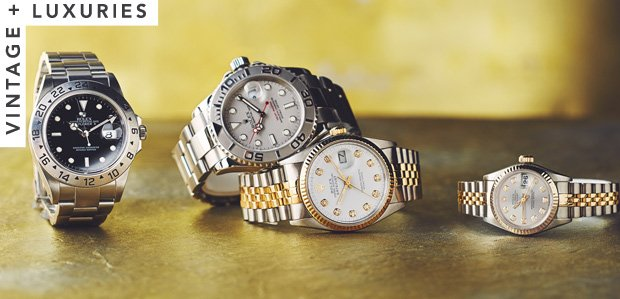 Estate Watches Featuring Rolex