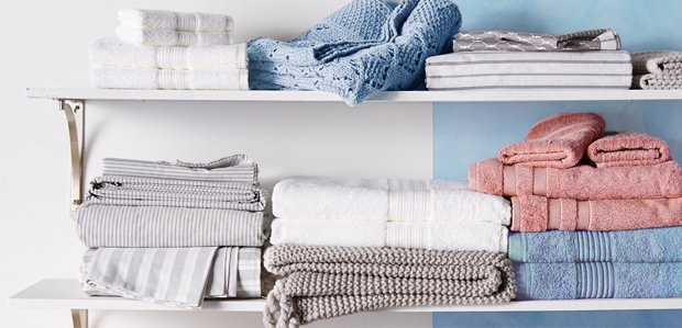 Fill the Linen Closet: Sheets, Towels, & More