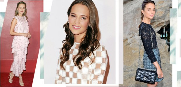 High-Fashion Looks Inspired by Alicia Vikander