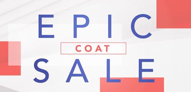 The Epic Coat Sale