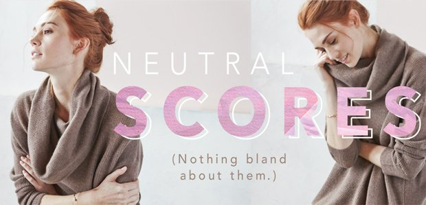 Neutral Scores That Go with Everything