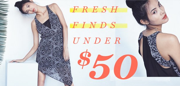 Fresh Finds Under $50: From Dresses to Jewelry
