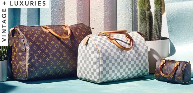 Vintage Extras Featuring Louis Vuitton Speedy Bags