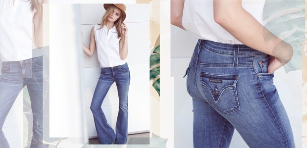 Flared to Skinny Jeans: Pick Your Denim Shape