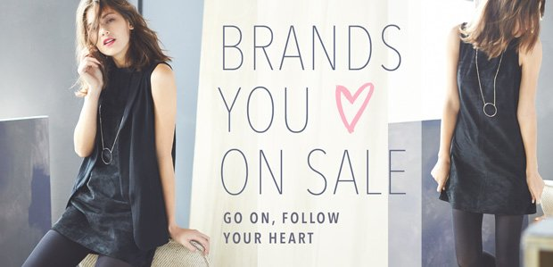 Brands You <3 on Sale