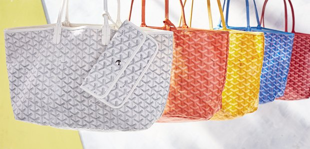 Goyard: Beloved. And back on Rue.
