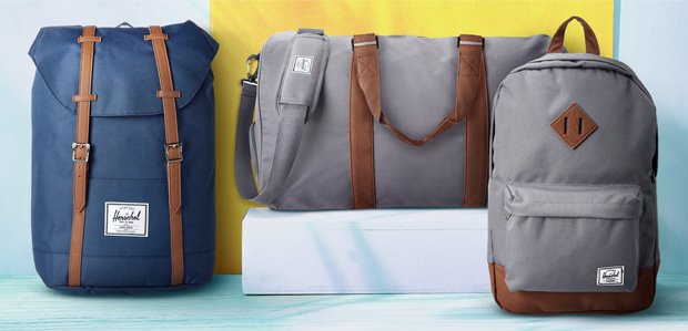 Men's Must-Have Extras Featuring Herschel Supply Co.