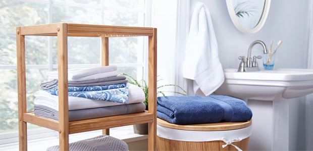 Homekeeping 101: Stock the Linen Closet