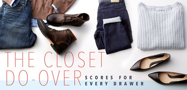 The Closet Do-Over. Scores for every drawer.