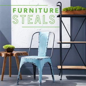 Furniture Steals: Seating to Tables