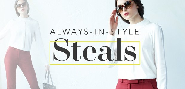 Always-in-Style Steals (Not Always at These Prices)