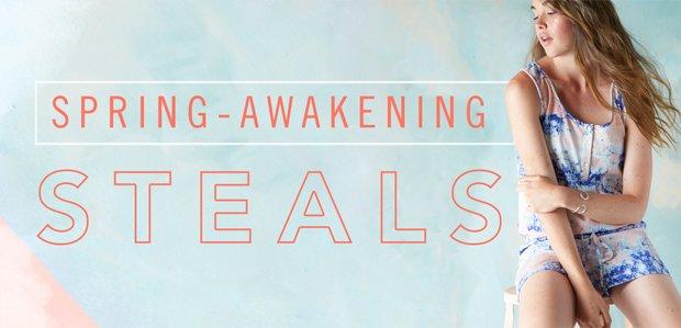 Spring-Awakening Steals. Grab everything.