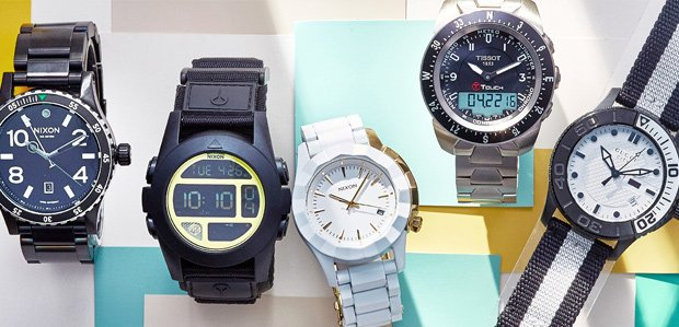 Sleek to Sporty Watches for All Featuring Nixon