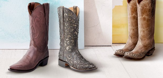 Head West: Cowboy Boots for All Featuring Lucchese