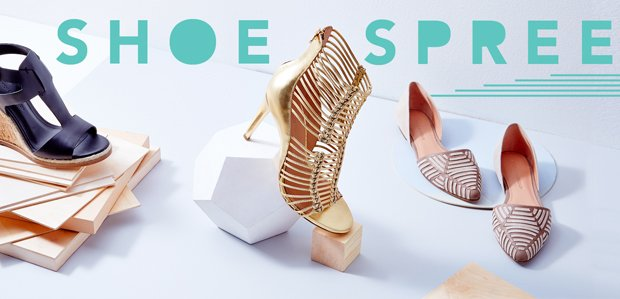 It's the SHOE SPREE. Run for it.