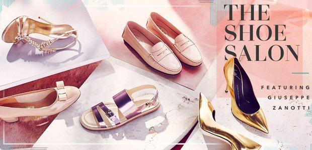 The Shoe Salon Featuring Giuseppe Zanotti