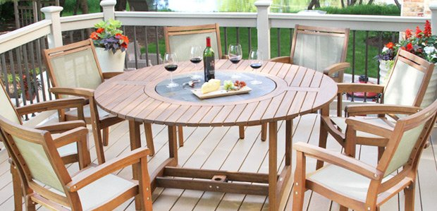 Make Mealtime Summery: Furniture to Dine Alfresco