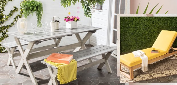 Your Outdoor Agenda: Get Porch & Patio Furniture