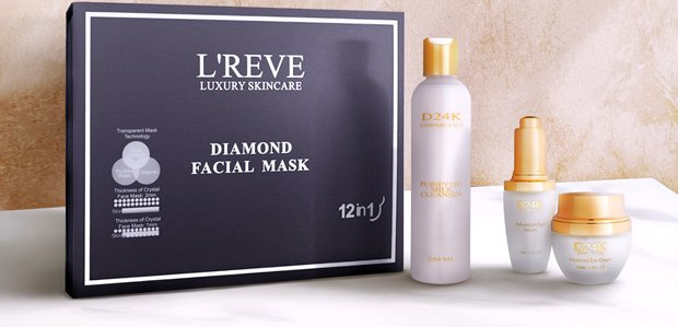 Skincare Featuring D'OR 24K & L'REVE