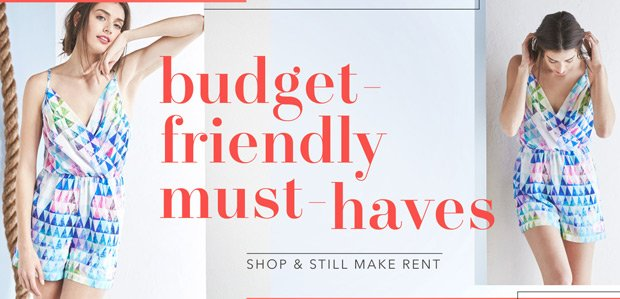 Budget-Friendly Must-Haves