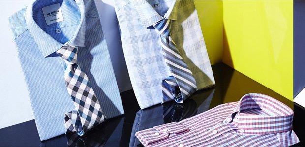 Dapper Duos: Dress Shirts & Ties