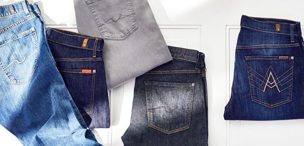 Men's Denim: Pick Your Wash