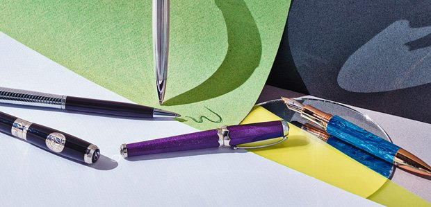Sign Here: Writing Instruments by Montblanc & More