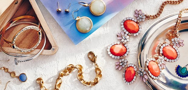 Stack It On: Jewelry & Watches by Price