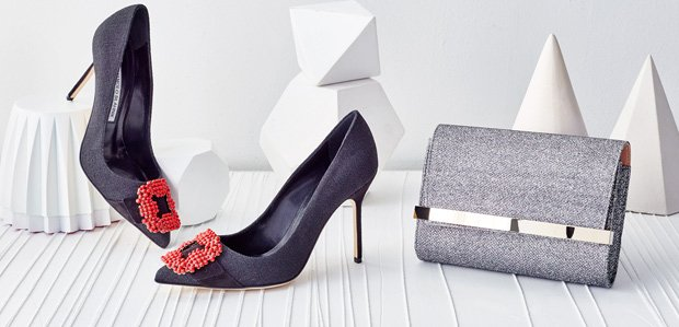 Oh-So-Elegant Extras: Manolo Blahnik & More