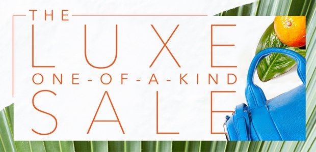 The Luxe One-of-a-Kind Sale