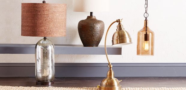 Lighting Steals: Table Lamps to Chandeliers