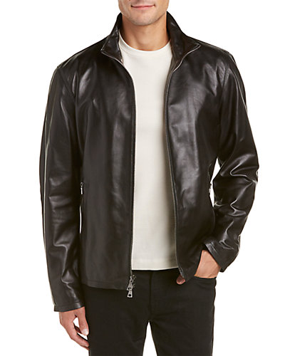 John Varvatos Star U.S.A. Leather Jacket