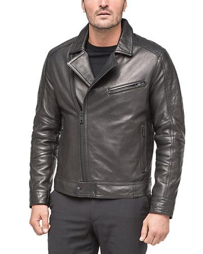 Andrew Marc X Richard Chai Brayden Leather Jacket