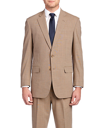 Brooks Brothers Madison Classic Fit Tan Suit