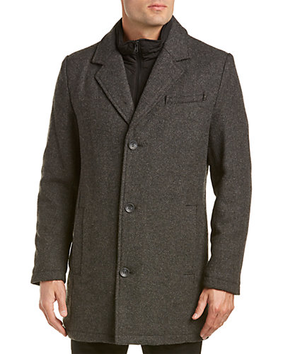 Vince Camuto Wool-Blend Peacoat