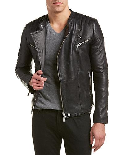 Zadig & Voltaire Lux Leather Biker Jacket