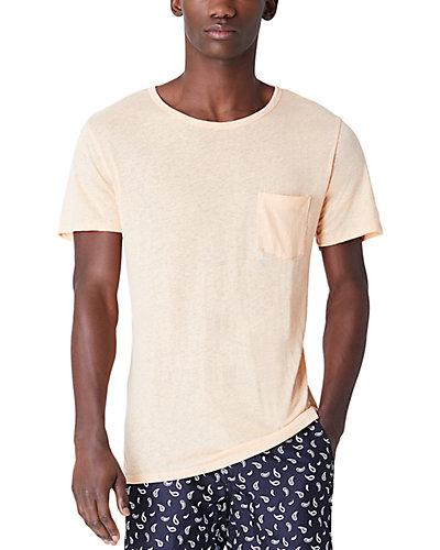 Rue La La — Onia Chad Linen-Blend T-Shirt