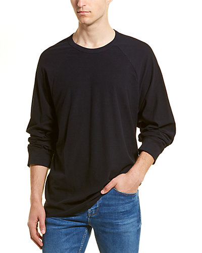 Rue La La — James Perse Micro Striped Raglan Crew T-Shirt