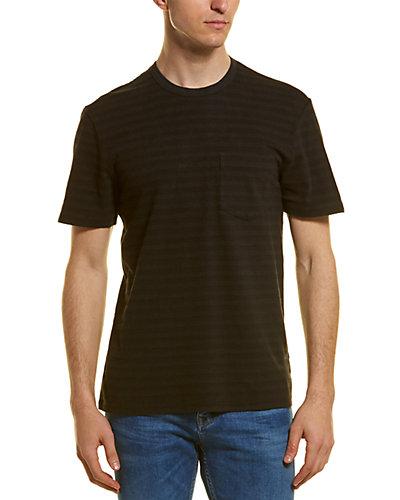 Rue La La — James Perse Shadow Striped Pocket T-Shirt