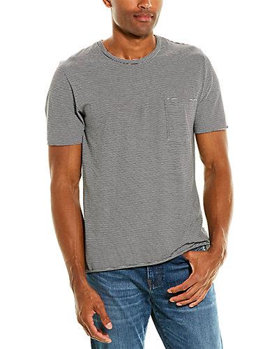 Rue La La — Vince Feeder Stripe Pocket T-Shirt