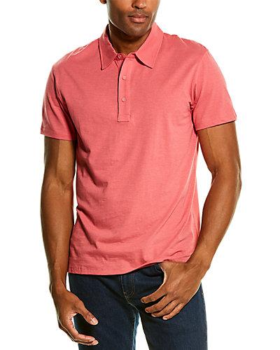 Rue La La — Grayers Drake Micro Stripe Polo Shirt