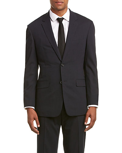 Brooks Brothers Milano Fit Wool-Blend Suit with Flat Front Pant