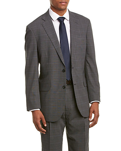 Brooks Brothers Madison Fit Wool-Blend Suit with Pleated Front Pant