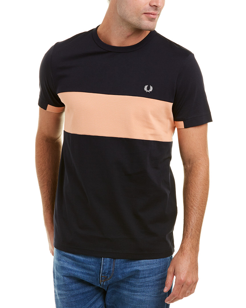 ba2c7ae8a Fred Perry Chest Panel Polo Shirt
