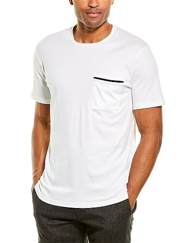Rue La La — Theory Stripe Pocket T-Shirt