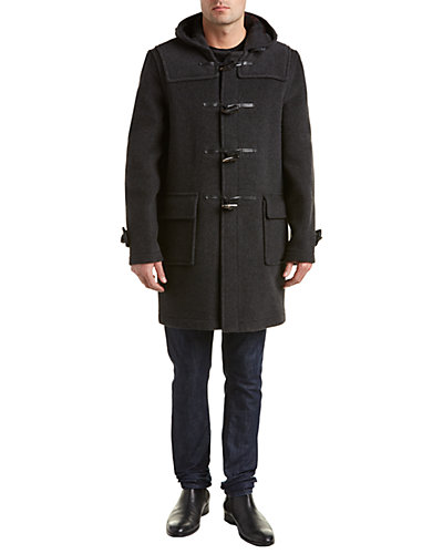 Gloverall Morris Wool-Blend Duffle Coat
