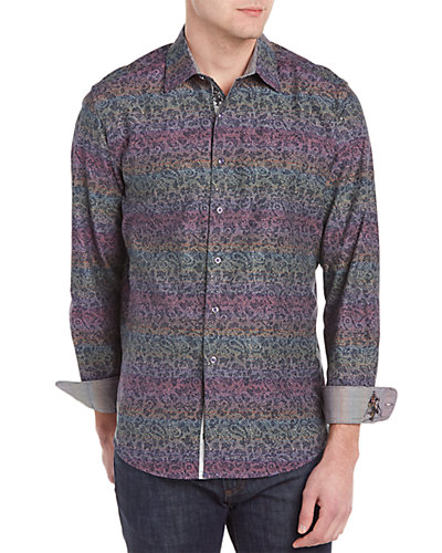Robert Graham Loch Ness Woven Shirt