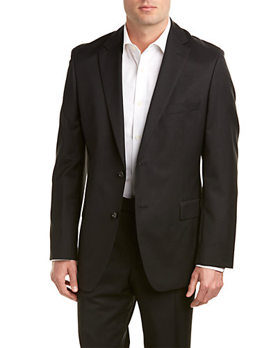 BOSS Hugo Boss Paolini1/Movio1 Suit with Flat Front Pant