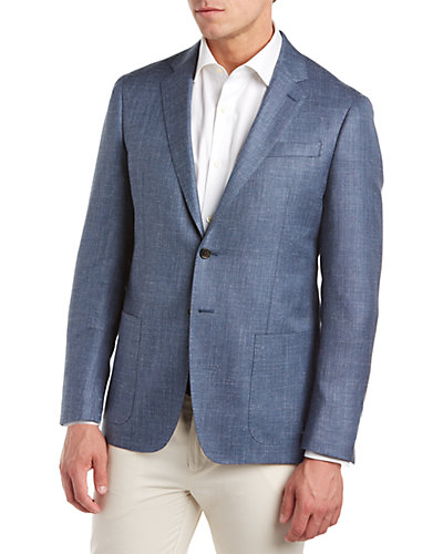 Todd Snyder Mayfair Fit Wool, Silk & Linen Jacket