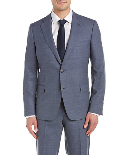Enrico Coveri Modern Fit Suit with Flat Front Pant